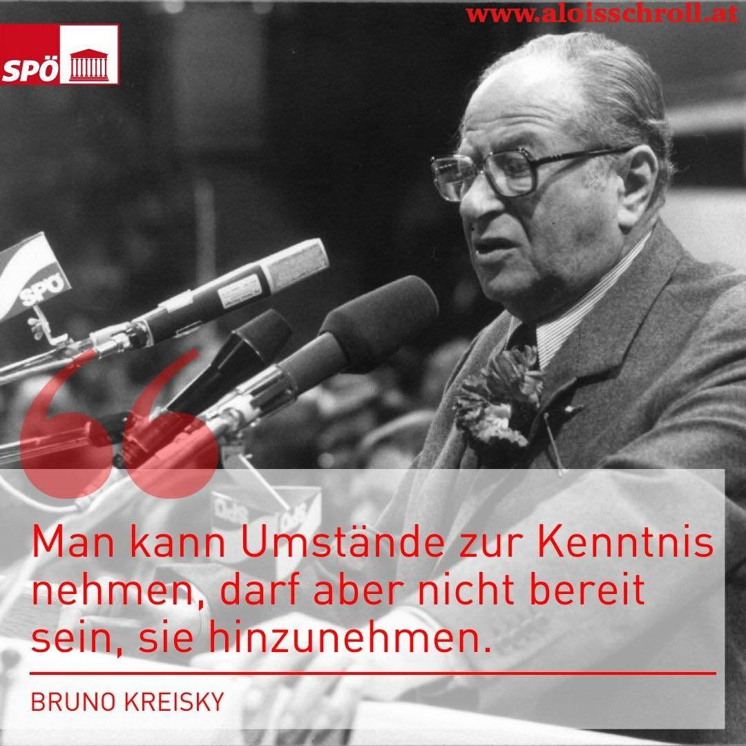 In Gedenken an Bruno Kreisky